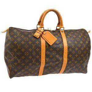 Louis Vuitton Keepall 50 Travel Hand #N2493V48O